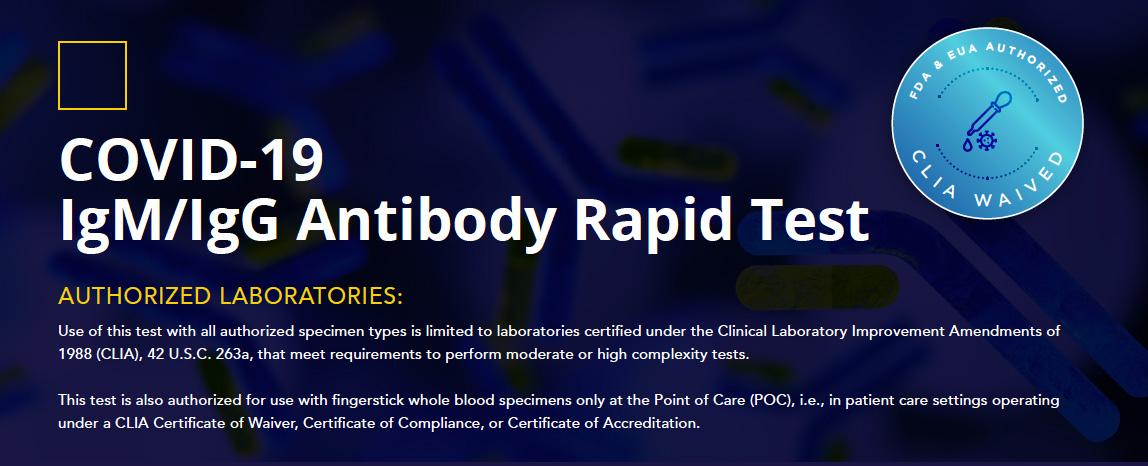 igm:igg antibody